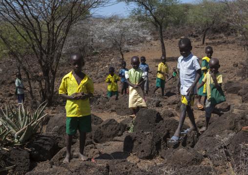 Children in a local school, Baringo county, Baringo, Kenya