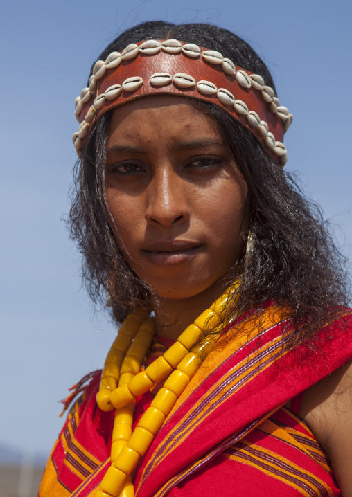 Somali tribe woman, Turkana lake, Loiyangalani, Kenya