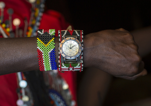 Masai warrior watch, Nakuru county, Nakuru, Kenya
