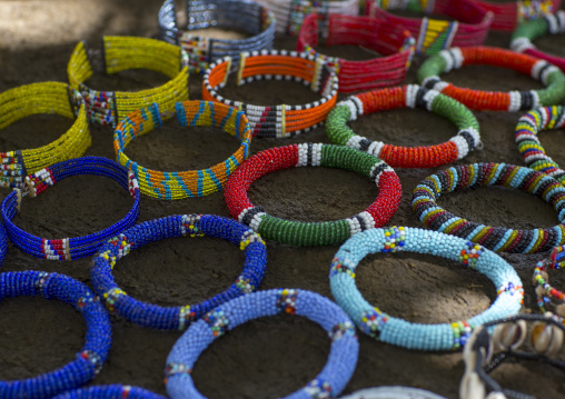 Beaded bracelets for sale by maasai jewellers, Nakuru county, Nakuru, Kenya