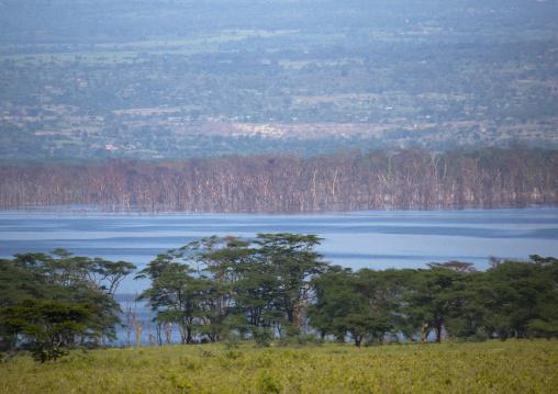 Panoramic view, Nakuru district of the rift valley province, Nakuru, Kenya