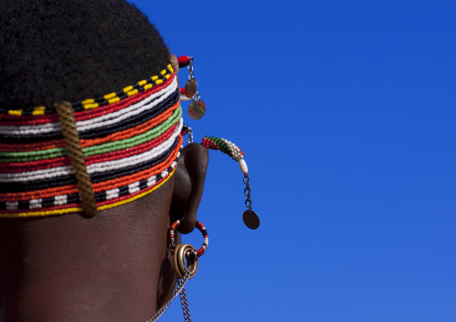 Samburu tribe woman, Kenya