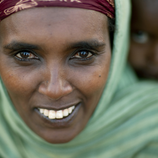 Borana tribe woman, Kenya