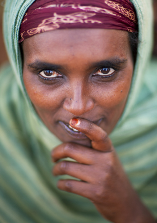 Borana tribe woman, Marsabit district, Marsabit, Kenya