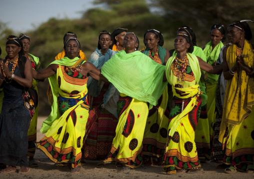 Gabbra tribe dance, Kenya