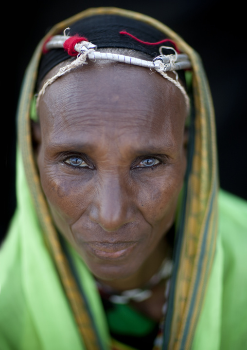 Gabbra tribe woman, Kenya