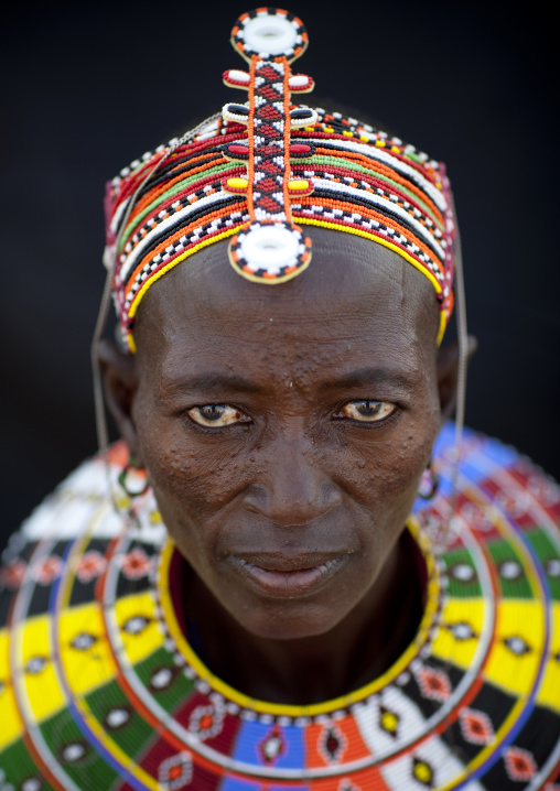 El molo tribe woman, Turkana lake, Kenya