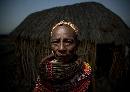 Rendille tribe woman, Kenya