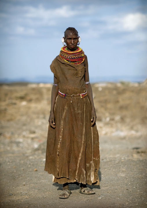 Turkana tribe woman, Kenya