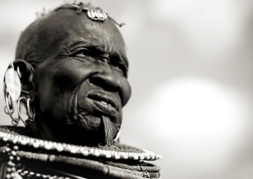Turkana tribe woman, Kenya