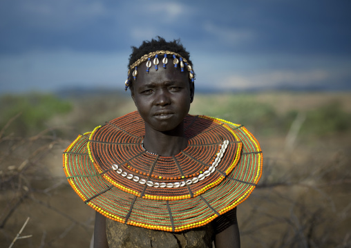 Pokot tribe girl , Kenya