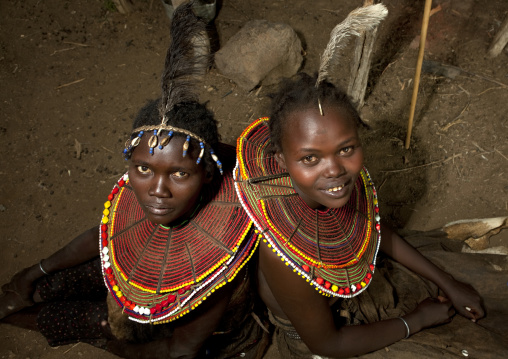 Pokot tribe girls , Kenya