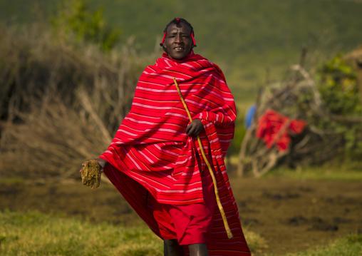 Maasai warrior, Nakuru county, Nakuru, Kenya