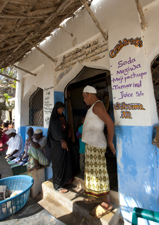 Entrance of a shop, Lamu, Kenya