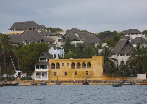 View of shela from the sea, Lamu, Kenya