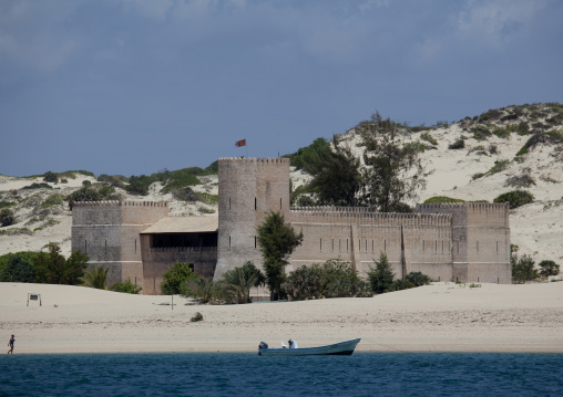 The fort hotel, Shela, Lamu, Kenya