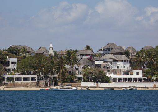 Shela view from the sea, Lamu, Kenya