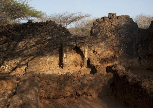 Takwa ruins manda island, Lamu, Kenya