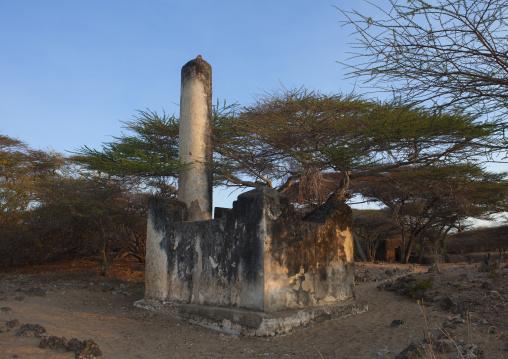 Takwa ruins tomb manda island, Lamu, Kenya