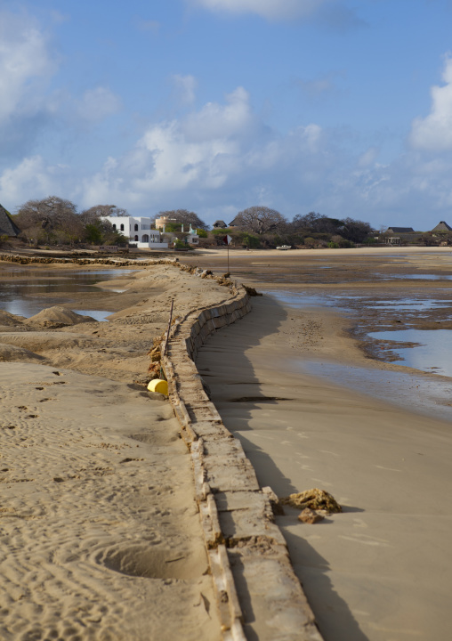 Manda island majlis hotel beach, Lamu, Kenya