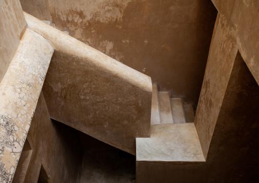 Stairs in a swahili house, Lamu County, Lamu, Kenya