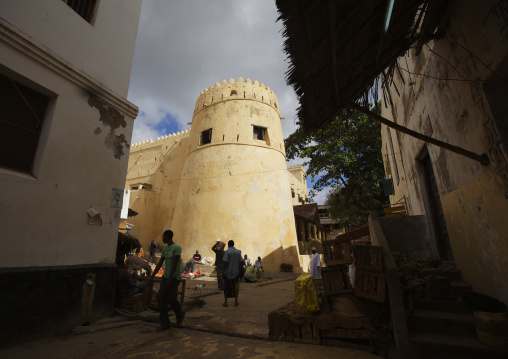 A view of the fort tower, Lamu County, Lamu, Kenya