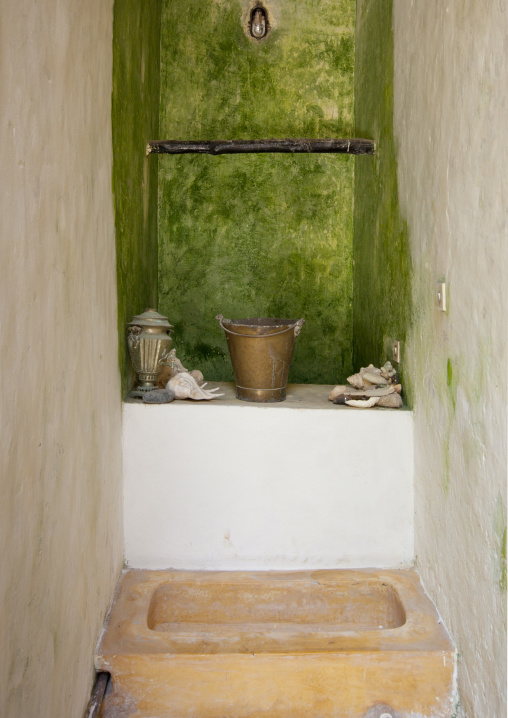 A well in typical swahili house, Lamu County, Lamu, Kenya