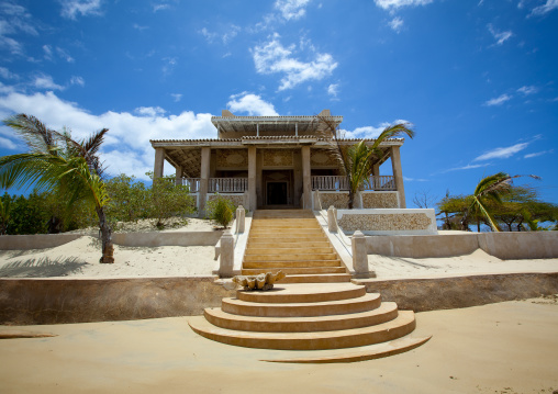 Doctor delajoux's  house main entrance, Lamu, Kenya