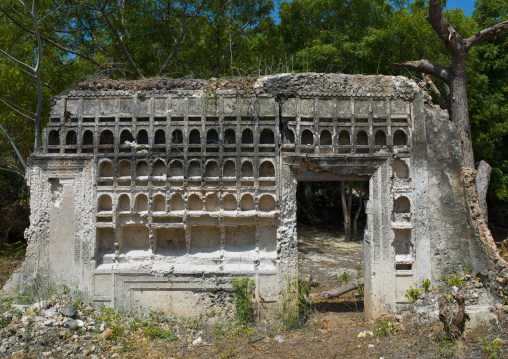 Old swahili zidaka ruins, Lamu County, Shela, Kenya