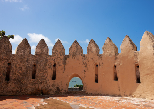 Fort crenels, Lamu County, Lamu, Kenya