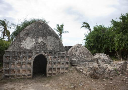 Old muslim graves, Lamu County, Pate Island, Kenya