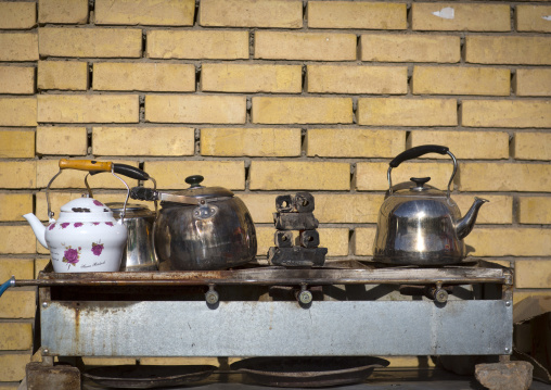 Tea Stall In The Street, Erbil, Kurdistan, Iraq