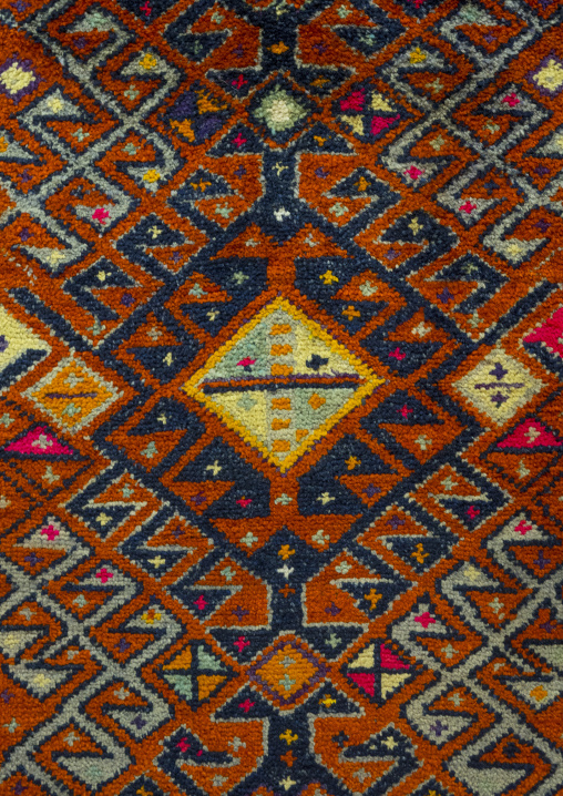 Carpet From The Textile Museum Inside The Citadel, Erbil, Kurdistan, Iraq