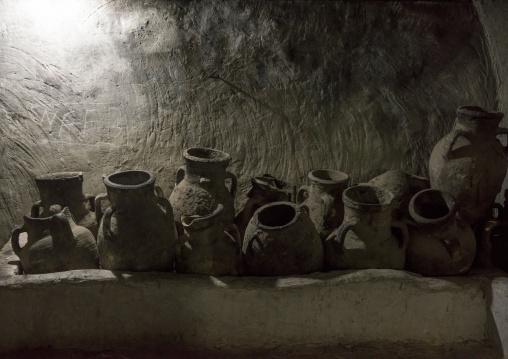 Olive Oil Jars, Temple City Of Lalesh, Kurdistan, Iraq