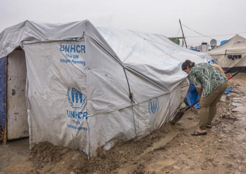 Domiz Syrian Refugee Camp, Erbil, Kurdistan, Iraq