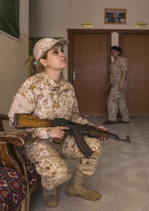 Peshmergas Women Of The 2Nd Battalion, Sulaymaniyah, Kurdistan, Iraq