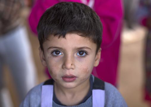 Yazidi Refugee From Sinjar, Duhok, Kurdistan, Iraq