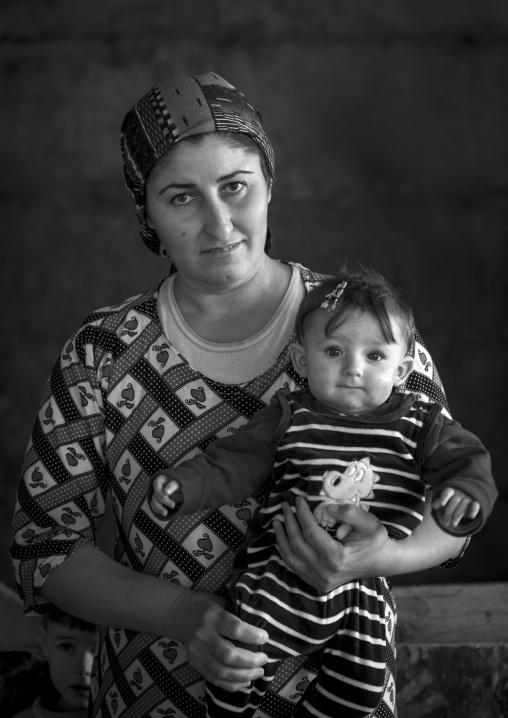 Yezedi Refugees From Sinjar, Duhok, Kurdistan, Iraq