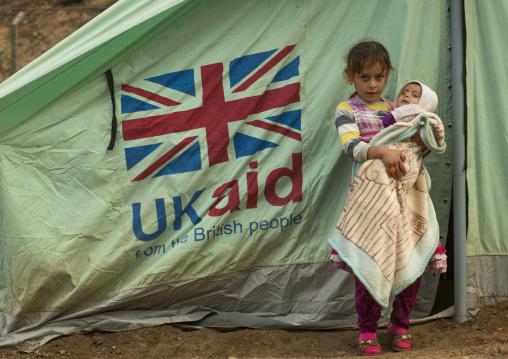Yezedi Refugee Children From Sinjar, Lalesh, Kurdistan, Iraq