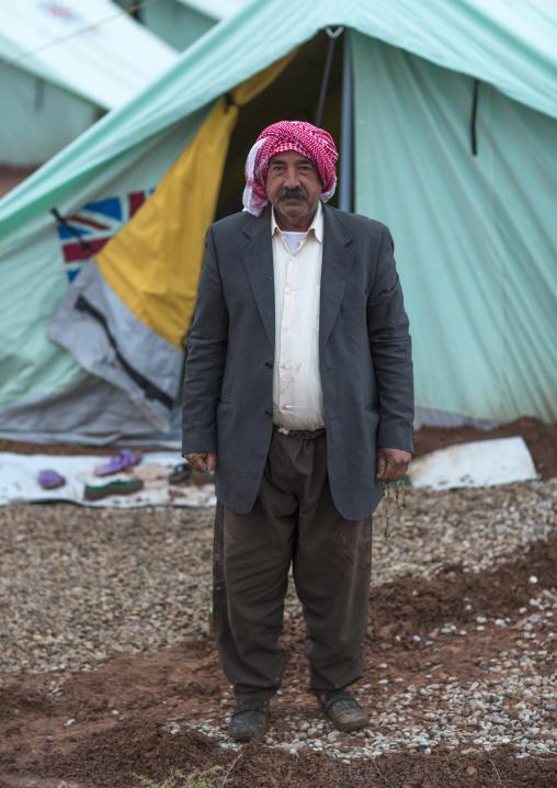 Yezedi Refugee From Sinjar, Lalesh, Kurdistan, Iraq