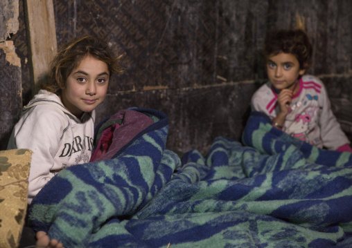 Yezedi Refugee Children From Sinjar, Duhok, Kurdistan, Iraq