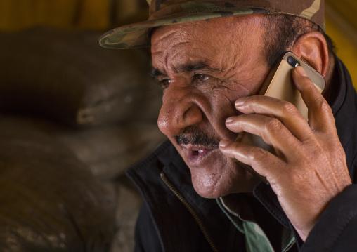 Kurdish General Peshmerga On The Frontline, Duhok, Kurdistan, Iraq