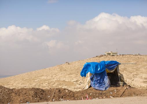 Kurdish Shelter On The Frontline, Duhok, Kurdistan, Iraq
