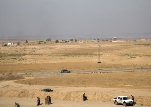 Kirkuk Area Frontline, Kurdistan, Iraq