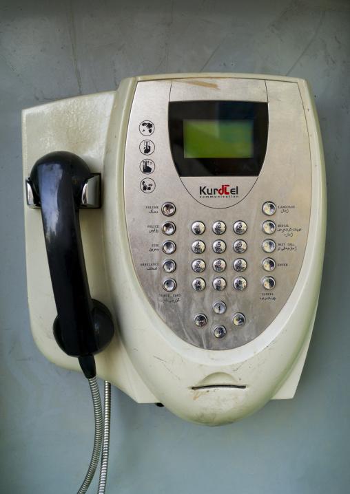 Public Phone, Suleymanyah, Kurdistan, Iraq