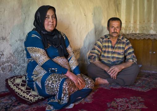 Kurdish Couple, Azaban, Kurdistan, Iraq