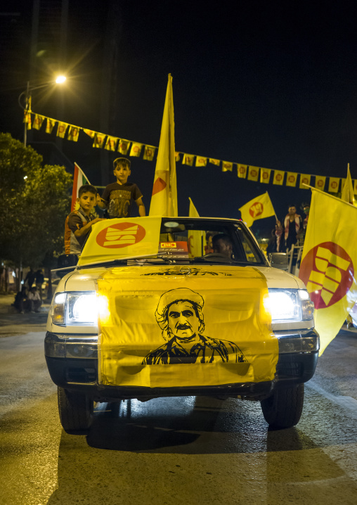 Kdp Meeting During Elections, Suleymanyah, Kurdistan, Iraq