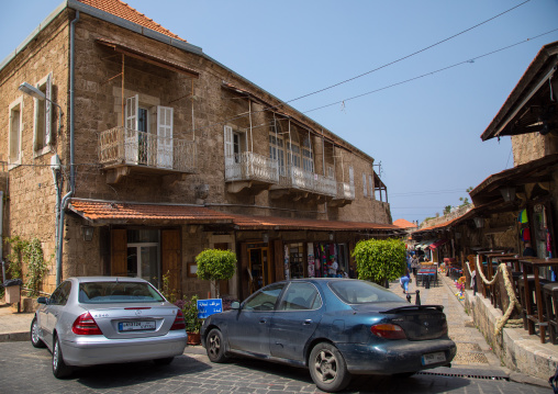 A view of the old pedestrian souk, Mount Lebanon Governorate, Byblos, Lebanon