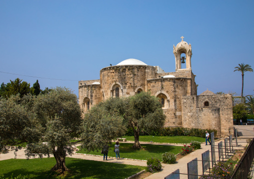 Church of st John the baptist, Mount Lebanon Governorate, Byblos, Lebanon