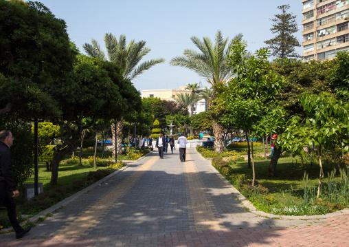 Garden in the city center, North Governorate, Tripoli, Lebanon